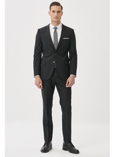 Altınyıldız Classics Slim Fit Takım Elbise 4A3010000061 Siyah